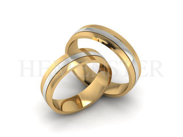 Aro De Matrimonio oro amarillo
