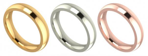 Alianzas de matrimonio de oro en lima